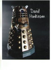 "David Hankinson ""Dalek"" signed 10 x 8 Photograph #2"